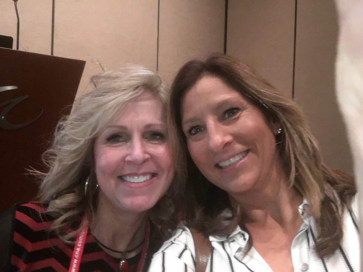 The Time Aspenmark Vp Operations Paula Felix And Nwir Board Member Shari Carlozzi Of Hapco Were Hanging At Ire 2017 National Women In Roofing Event