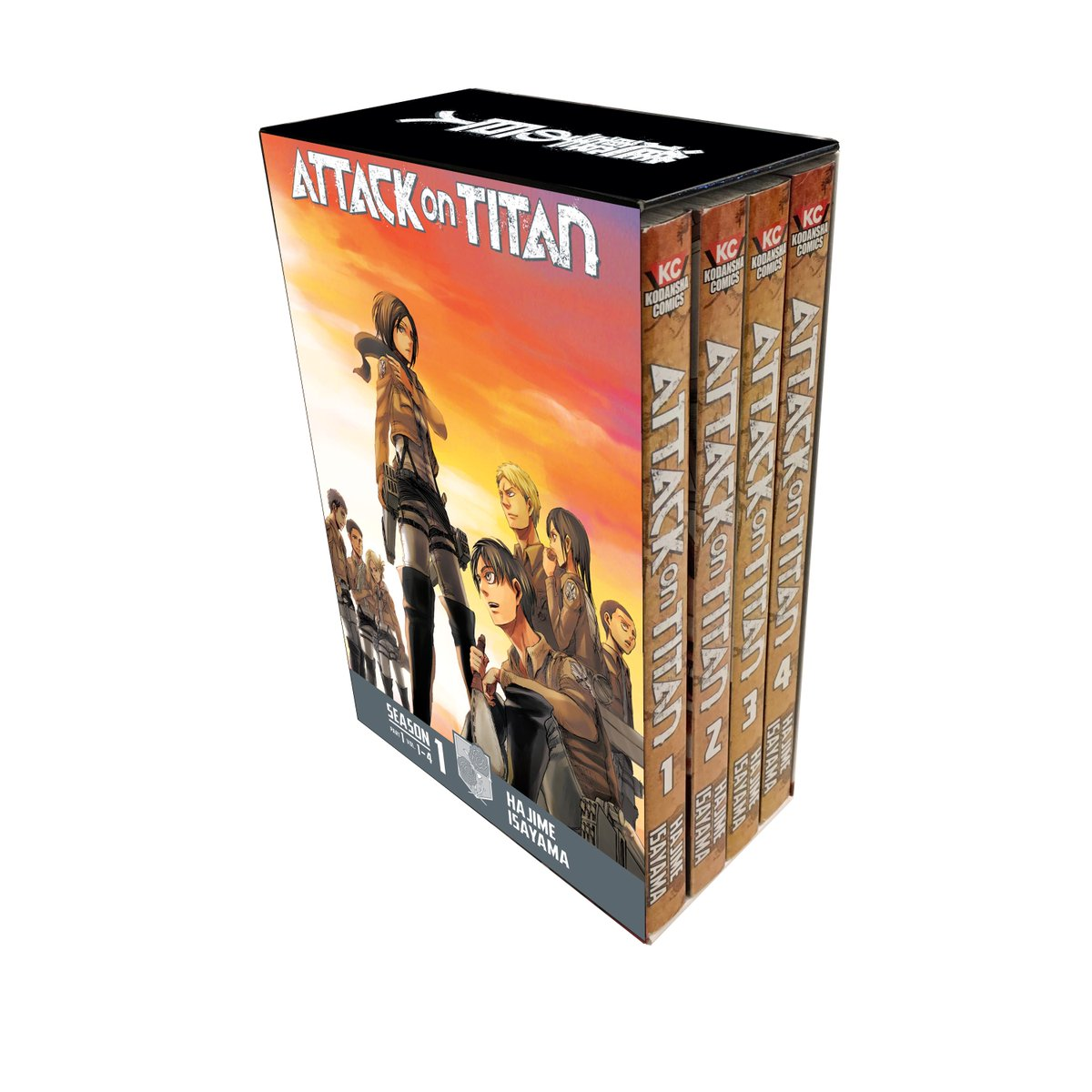 ... ready for the new season with our NEW Attack on Titan Season 1 & 2  manga box sets! https://kodanshacomics.com/2018/04/05/attack-on-titan-manga- box-sets/ ...