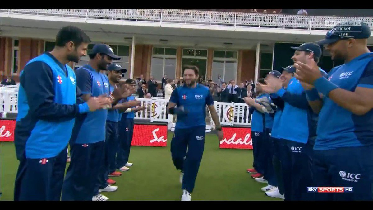 Image result for afridi guard of honor