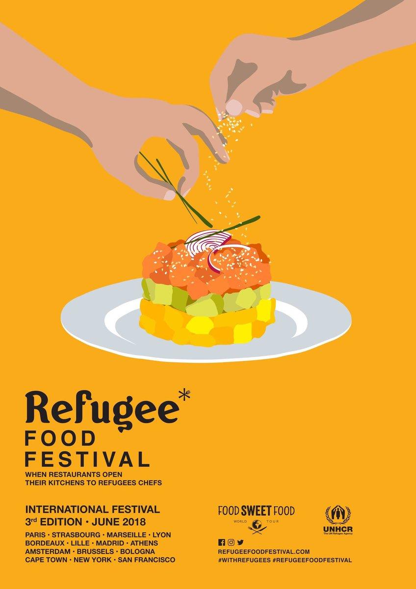 """Cuisine Schmidt Marseille 13009 céline schmitt on twitter: """"* refugee food festival 2018"""