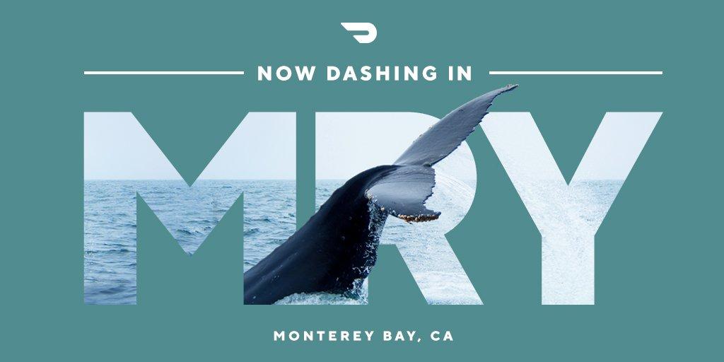 Now dashing in Monterey Bay, Hartford, College Station, Virginia Beach, and Lubbock! blog.doordash.com/now-dashing-in…