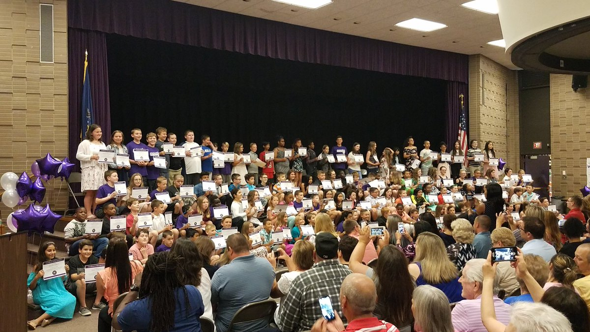 Congrats to PES 5th grade. The recognition program is wonderful. Great kids. Great teachers. Great school.