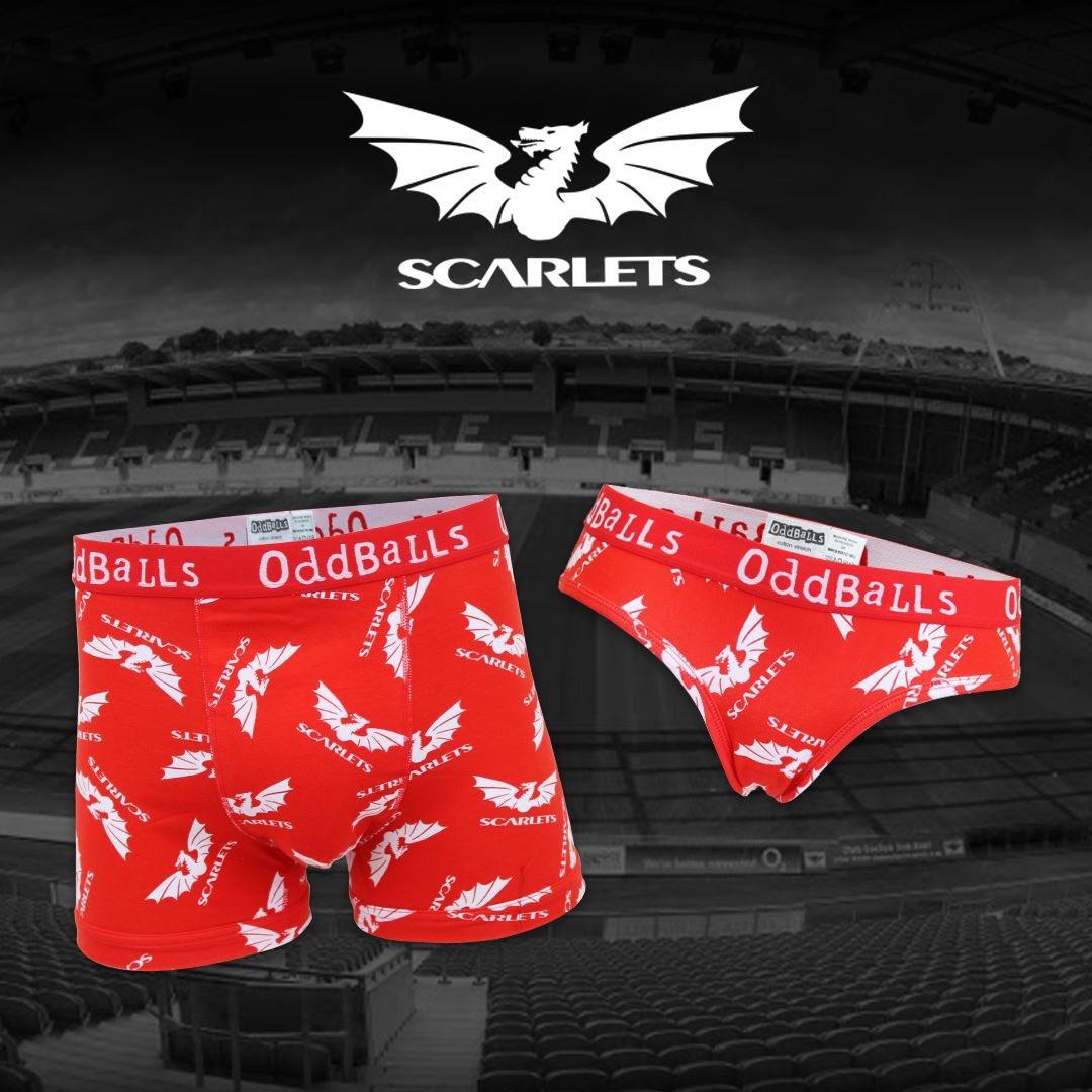 78ff41e8bd OddBallsVerified account  myoddballs. Official  scarlets rugby OddBalls  Underwear! The PRO14 Rugby   Welsh Rugby Union ...