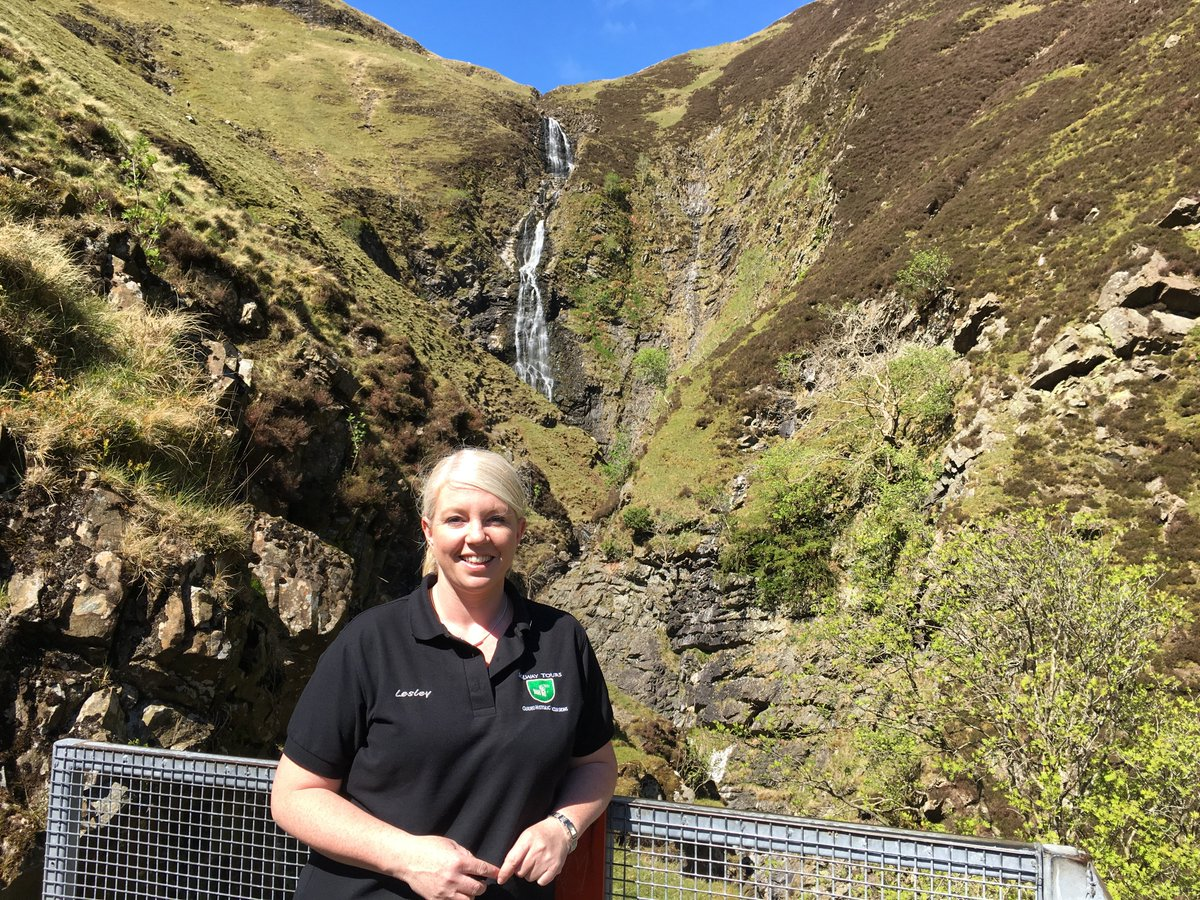 A4. Sitting at the Grey Mare's Tail would be a great place for a picnic! #LoveDandG