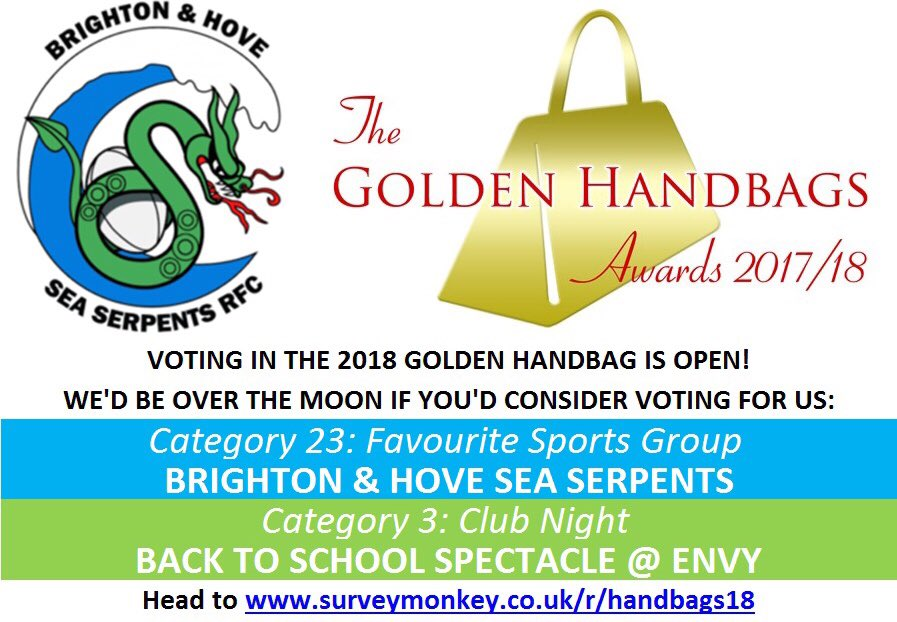 We D Love If You Could Give Us A Vote Especially In Category 23 For Favourite Sports Group Surveymonkey Co Uk R Handbags18 Gscene