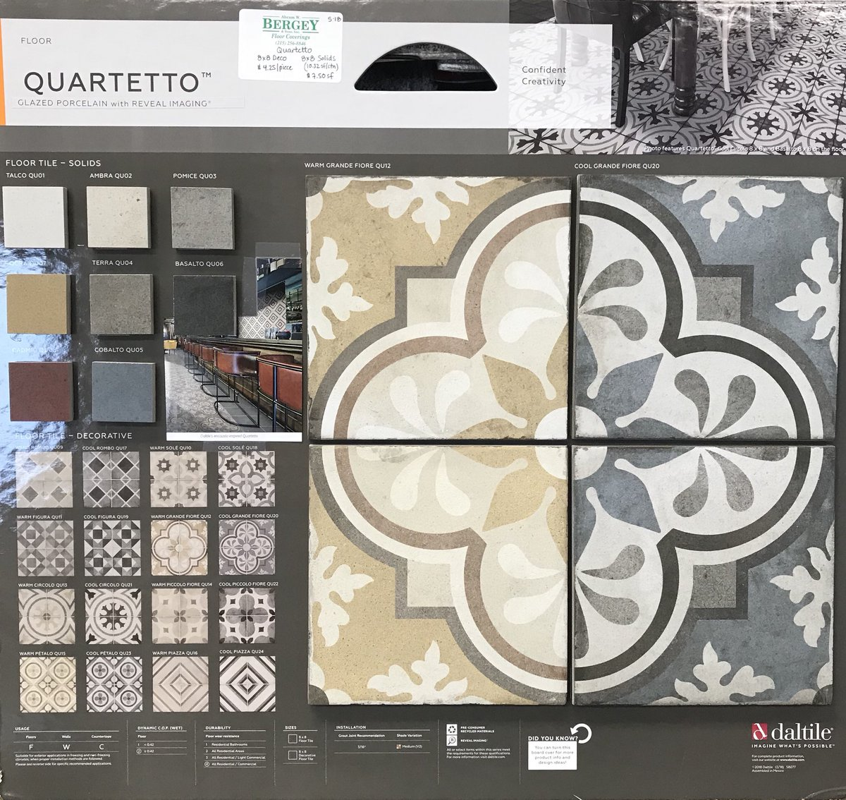 Abram W Bergey Sons Inc On Twitter Beautiful And Fun New - Daltile order samples