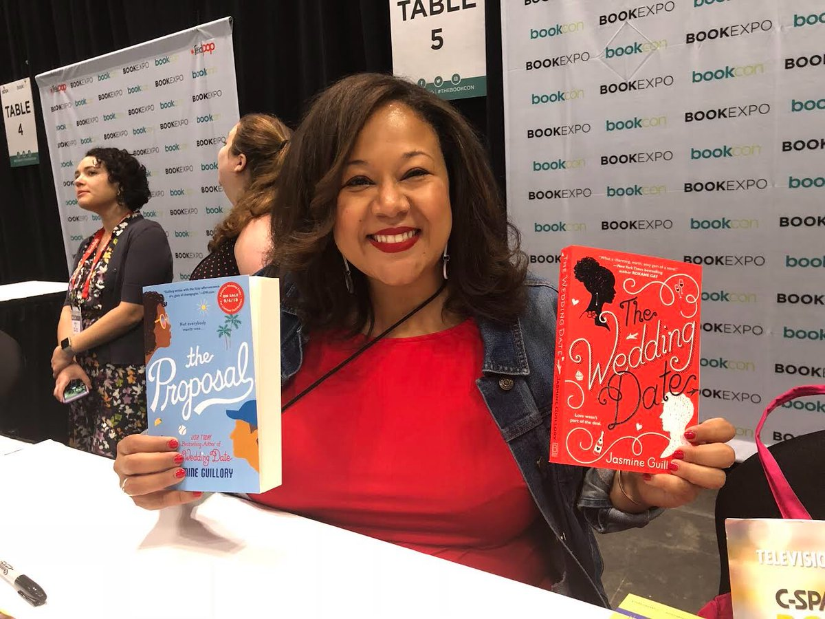 Me Black Woman In Red Dress Holding Two Books The Wedding Date