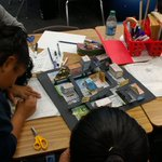 Image for the Tweet beginning: Edison School 6th graders are