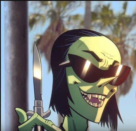 I could never be a woman gorillaz