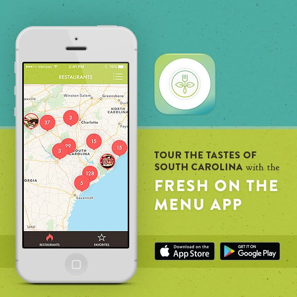 The Palmetto Series On Twitter Local Food Is Fresher And Healthier - Farm to table app