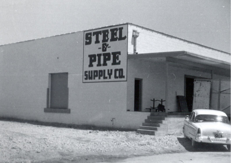 #TBT to 1954 when the steel side of our business really took off with a new 8000-square-foot warehouse dedicated to steel and pipe. & Steel and Pipe Supply (@steelandpipe) | Twitter