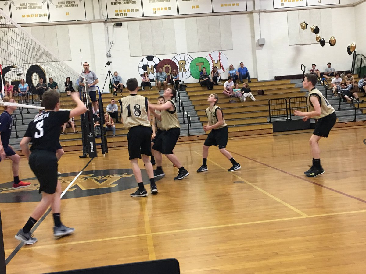 Nk Athletics On Twitter Boys Jv Volleyball Defeats South Kingstown