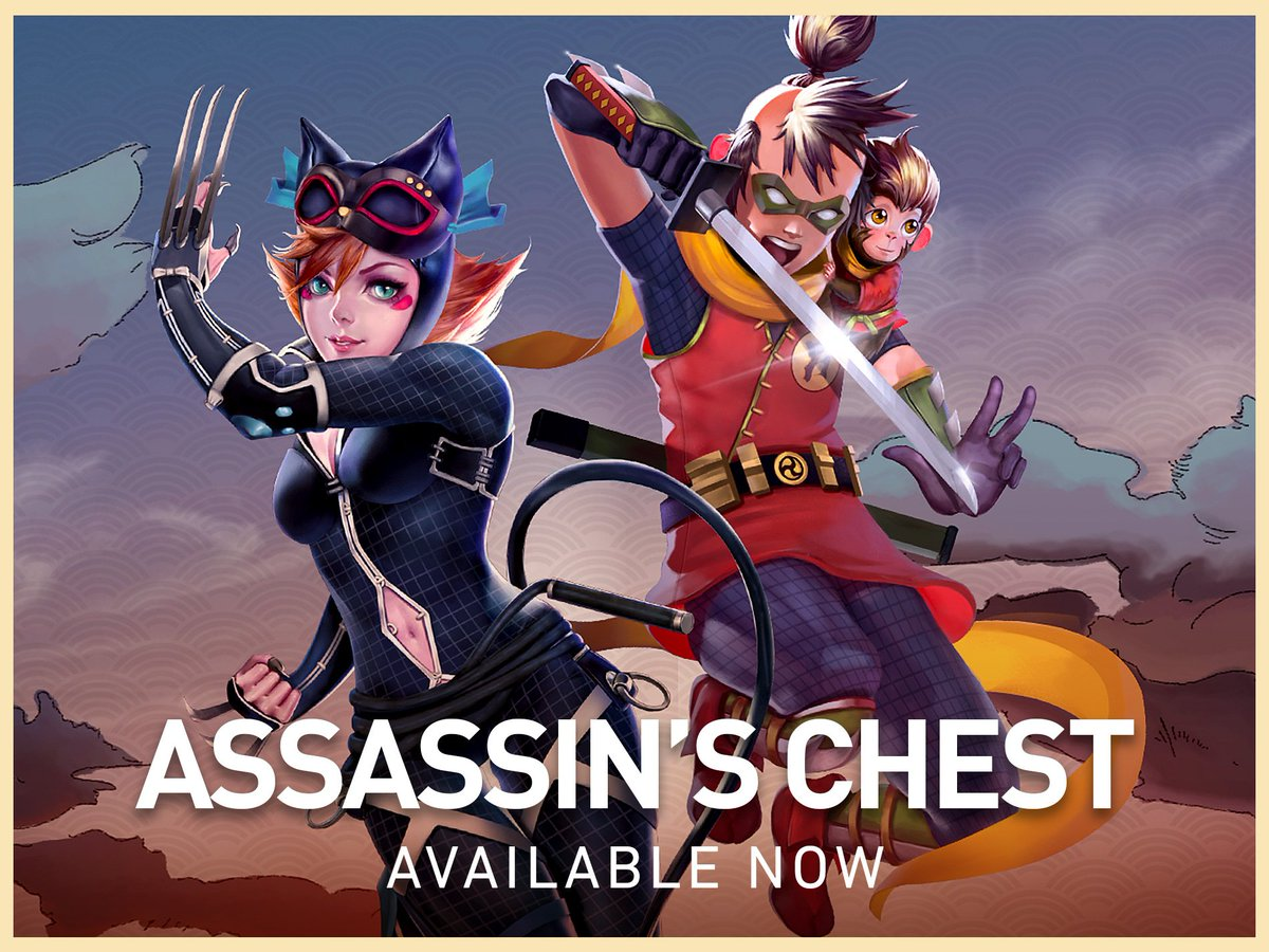 Injustice 2 Mobile On Twitter The New Assassin S Chest Is Here Start Building Your Batman Ninja Team Now Inj2mobile