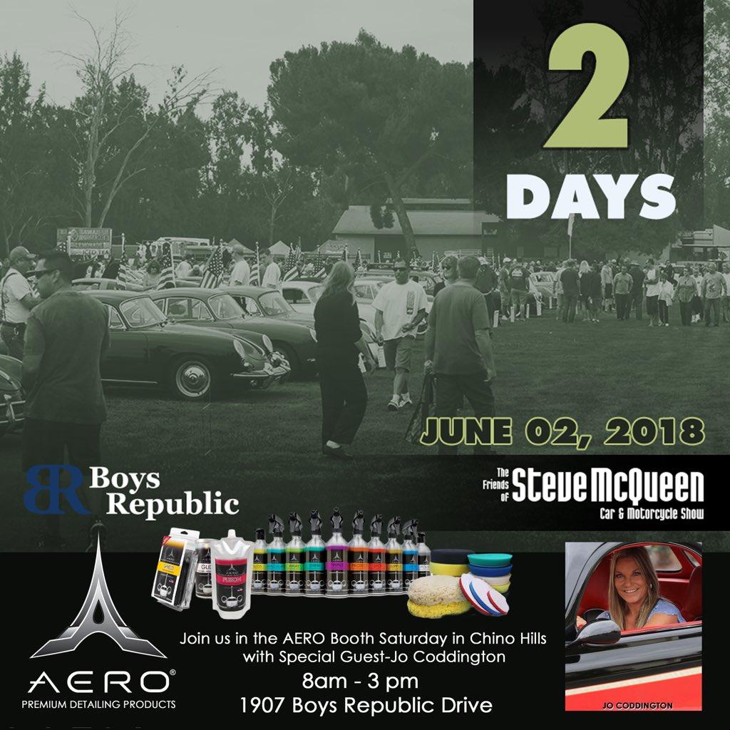 Team AERO On Twitter Th Annual Friends Of Steve McQueen Car Show - Chino hills car show
