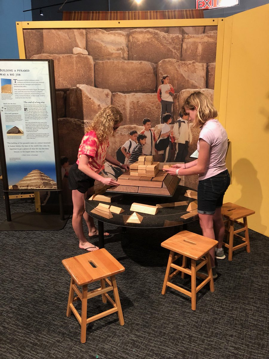 Cosi science center on twitter planning a trip to cosi this summer lost egypt ancient secrets modern science is now open for the summer