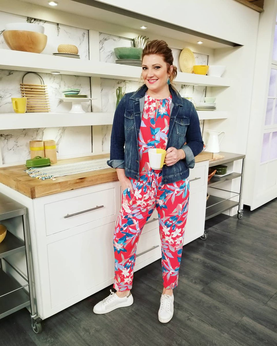 bdbe6a7e75d0 Jumping into summer with this adorable   comfortable Printed Jumpsuit from  N Natori  HSN  JosieNatori  NatoriCompany  goingcasual  jumpsuit  fashion  ...