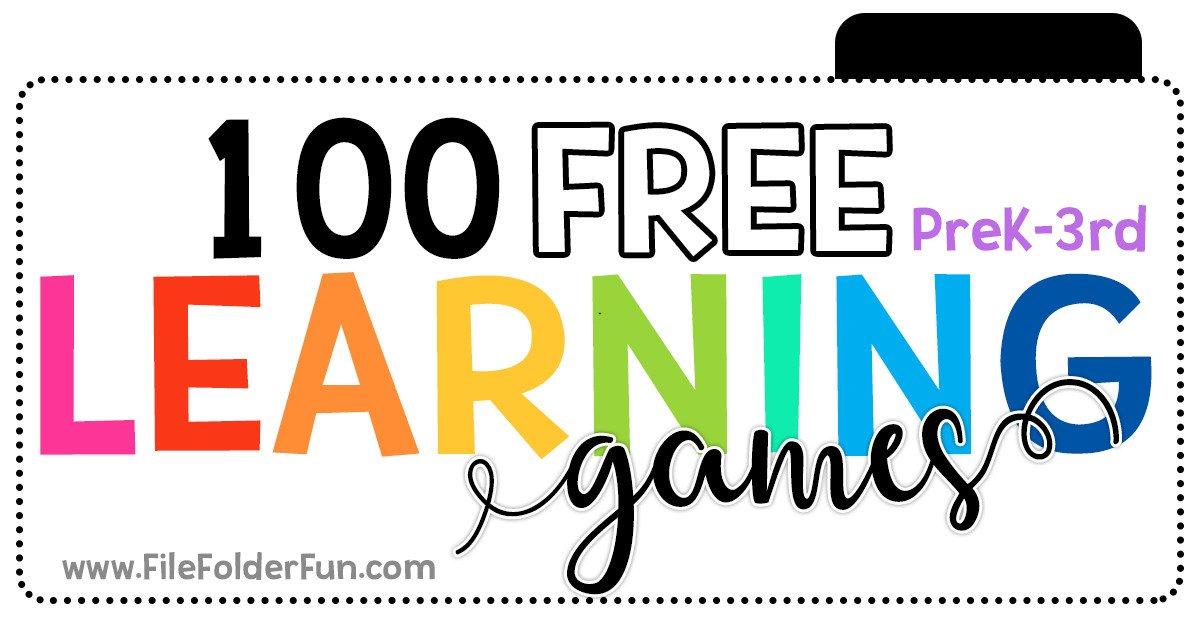 Valerie Mcclintick On Twitter 100 Free Learning Games For Kids