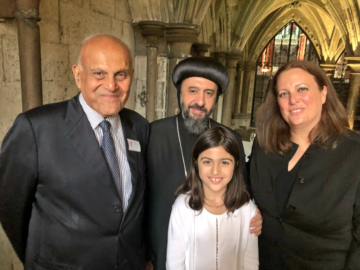 """Archbishop Angaelos on Twitter: """"Lovely evening at @WAbbey to ..."""