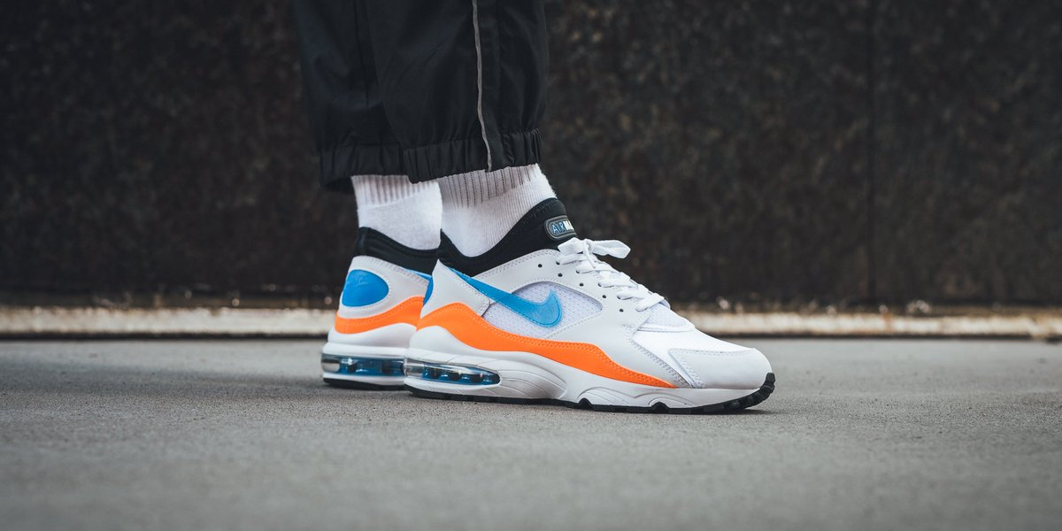 8324284d3c take a look at the latest Nike Air Max 93 🔸🔹 White/Blue Nebula ...