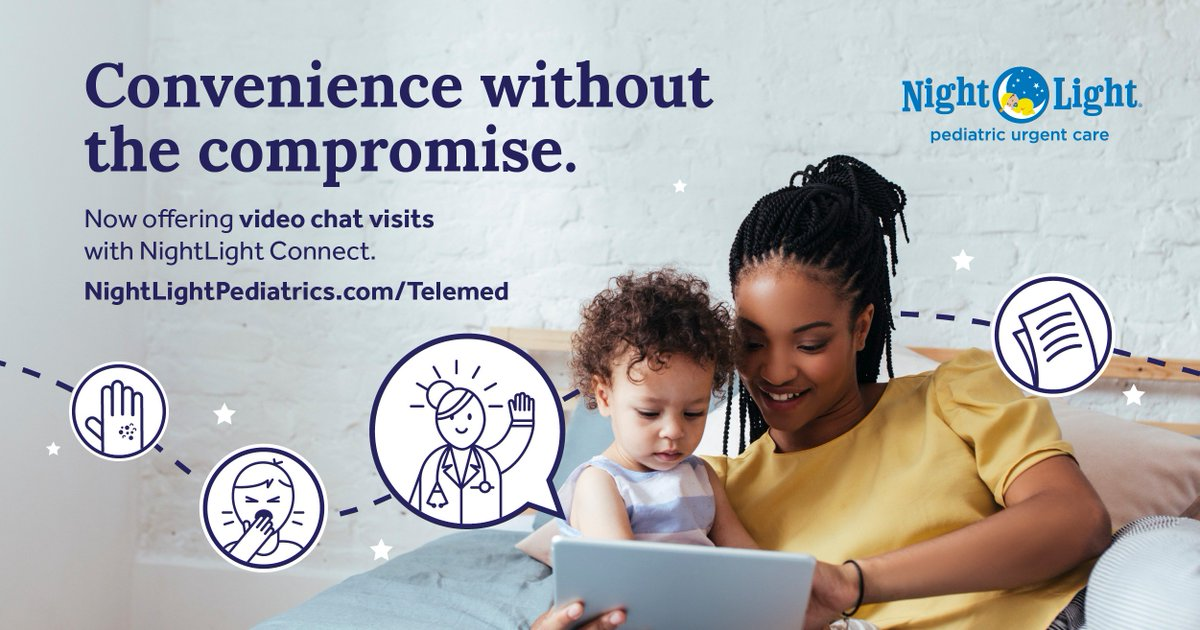 See And Speak To A NightLight Provider Straight From Your Phone! Weu0027re  Excited To Bring Pediatric Telemedicine To Your Little Stars.