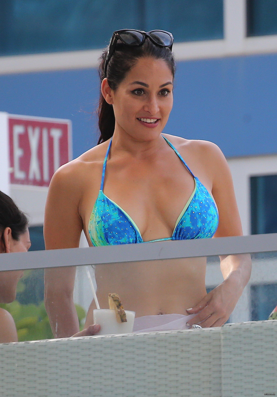 Flashback Friday: WWE Star Nikki Bella Draped In Ultra-Hot Bikini For Total Divas 38