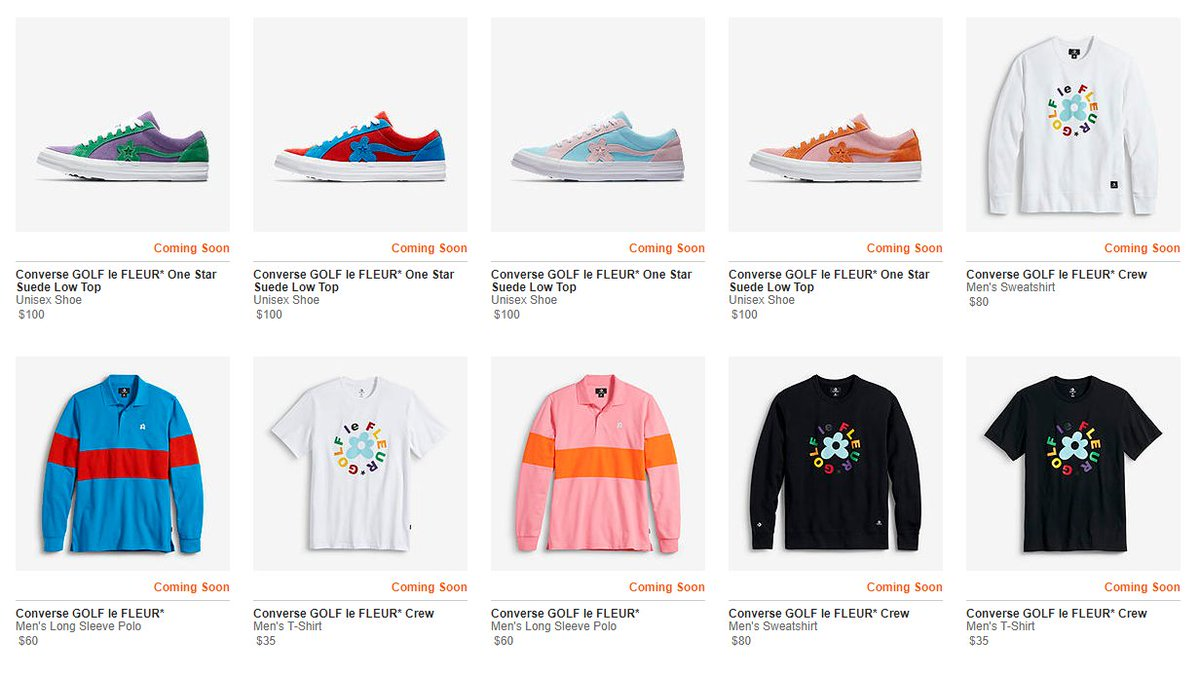 ... One Star  Two Tone  Collection in 30mins Converse http   bit.ly 2xwxbVQ Foot  Locker http   bit.ly 2kD2JjG Shoe Palace http   bit.ly 2mHcr5p ... ba75d9e71