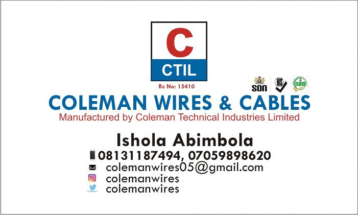 Coleman Wires & Cables (@ColemanWires) | Twitter