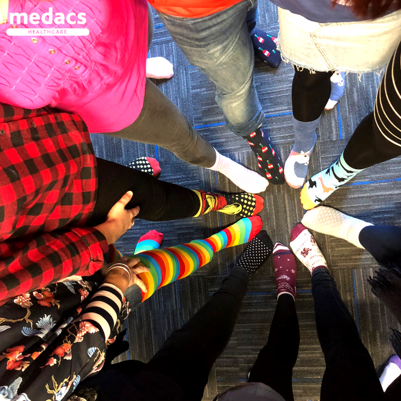 Global Medics @global_nz and @Medacs_NZ  are are proud to take part and support @crazysocks4docs - a mental health awareness campaign for doctors and healthcare practitioners around the world. #mentalhealth #awareness  #areyouokay #jointheconversation #colourfulsocks  #medacslife pic.twitter.com/ozPseqTpZS