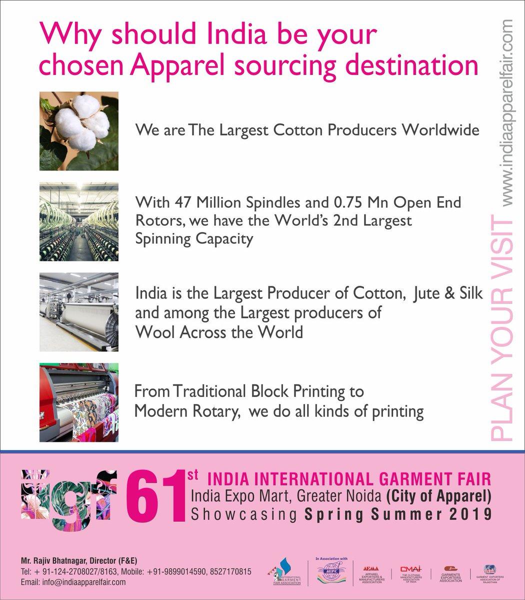 India International Garment Fair on Twitter: