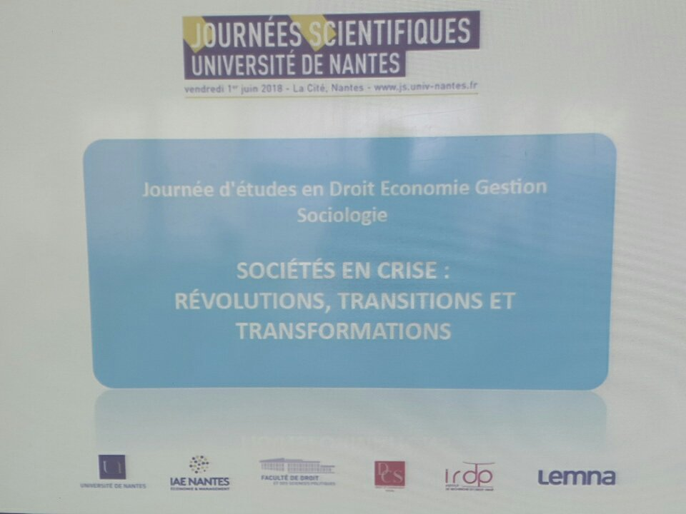Nicolas Antheaume On Twitter Jsun2018 Colloque 6
