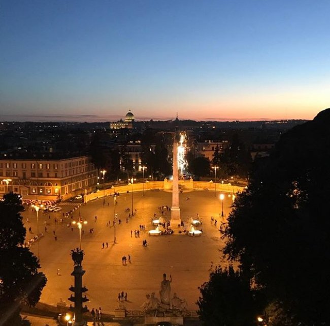 Turismo Roma Sur Twitter A Roma Il Tramonto Vorresti Non