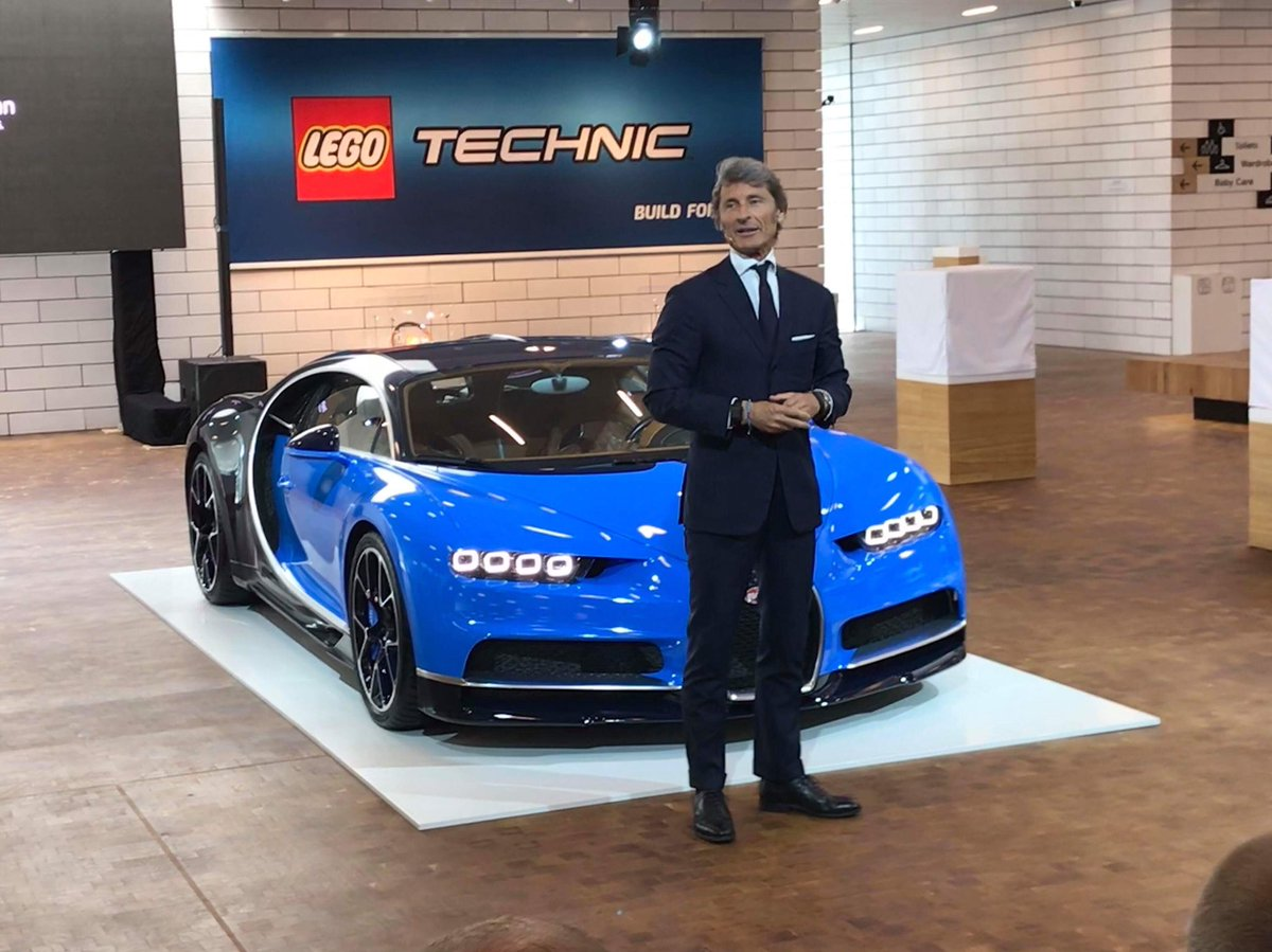 new elementary pa twitter a lovely blue bugatti chiron ceo stephan winkelmann and a lego technic logo whatever could happen next a lovely blue bugatti chiron ceo