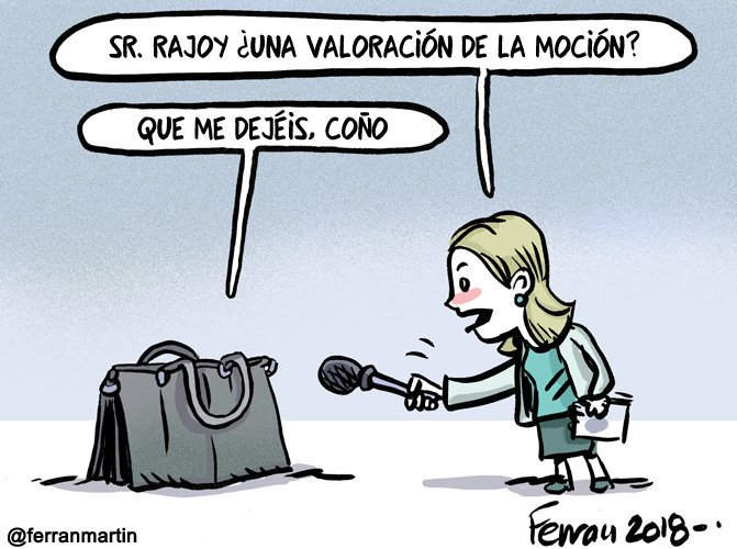 ¿Han comprobado que Rajoy no esté en el bolso de Soraya?