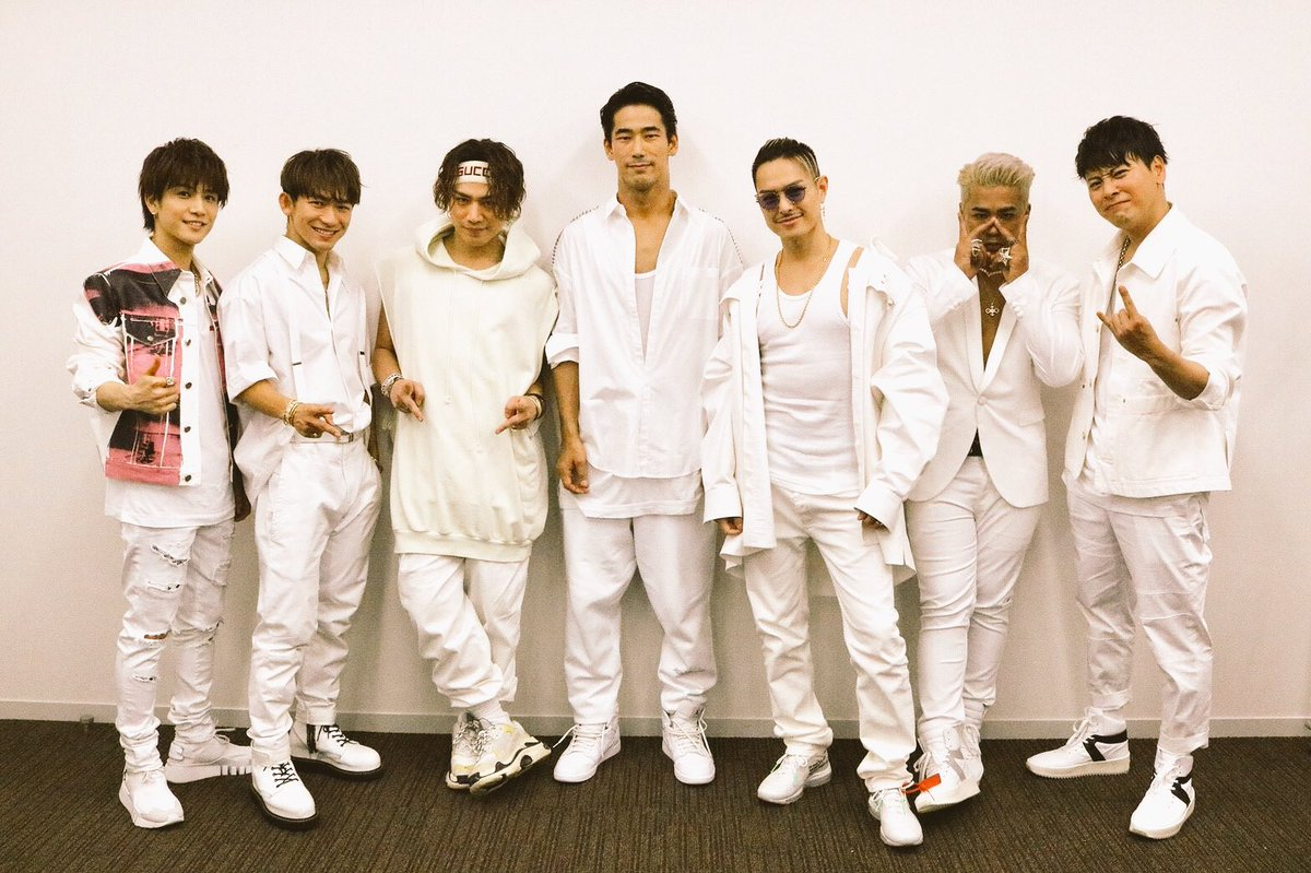Music Station 「RAINBOW」 🌈🌈🌈🌈🌈🌈 また来週 #三代目JSoulBrothers #Mステ #FUTURE