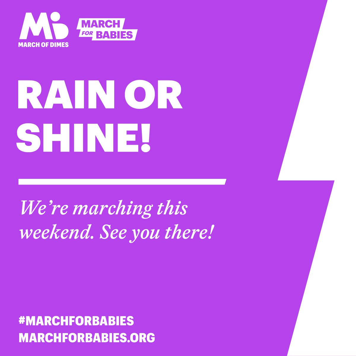 March for Babies on Twitter: