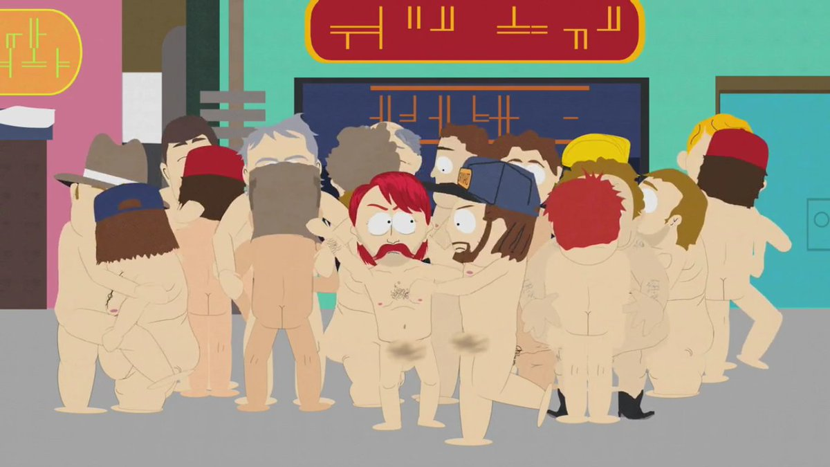 Gay guy on south park