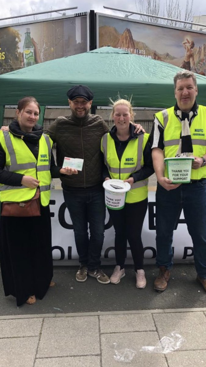 #NationalVolunteerWeek has started - a huge thanks to all our amazing volunteers on matchdays, at events &amp; behind the scenes. We couldn't do what we do for the @WEFoodbank without your help &amp; without the constant donations &amp; generosity of #NUFC fans. A real United effort.<br>http://pic.twitter.com/fHqQ9uhIZJ