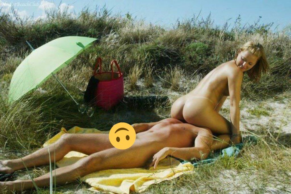 сделал куни на пляже юра зря это
