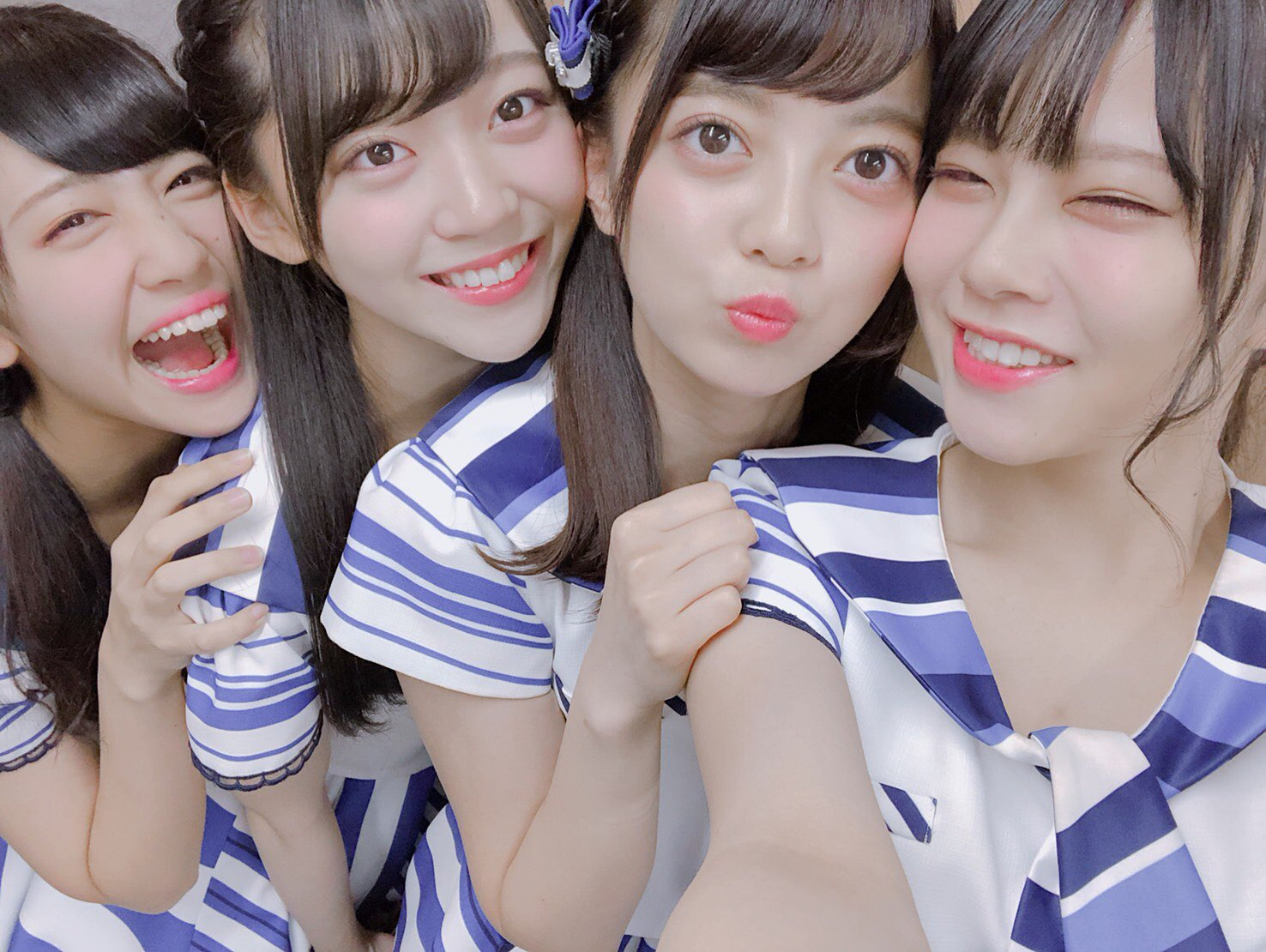 """STU48: STU48 On Twitter: """"とろこっこほのかのん💙 ほのたん「行ってきます!!!」 #STU48"""