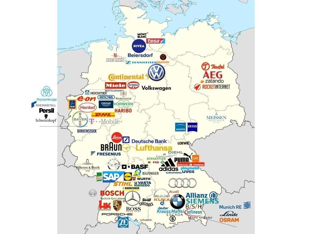 Germany On Map Of World.Simon Kuestenmacher On Twitter Map Shows Why Germany Is