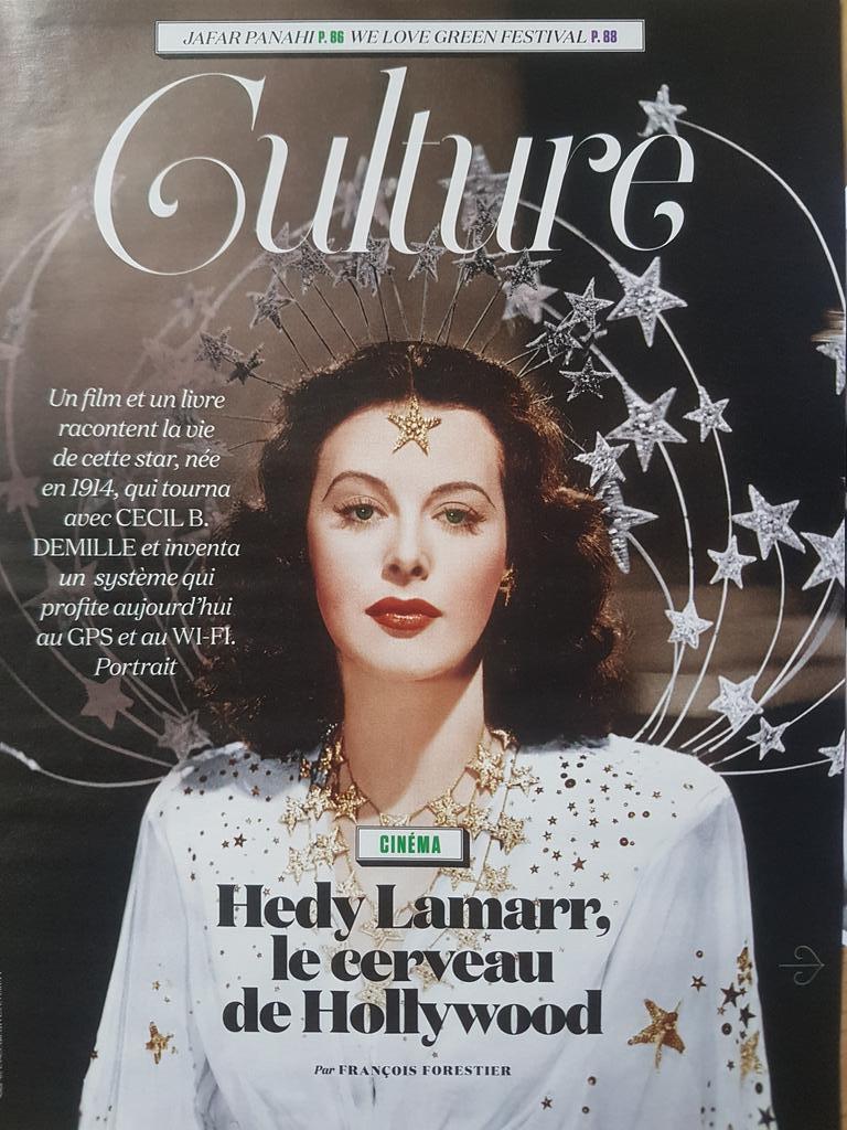 Alina Gurdiel On Twitter Hedy Lamarr Pour Son