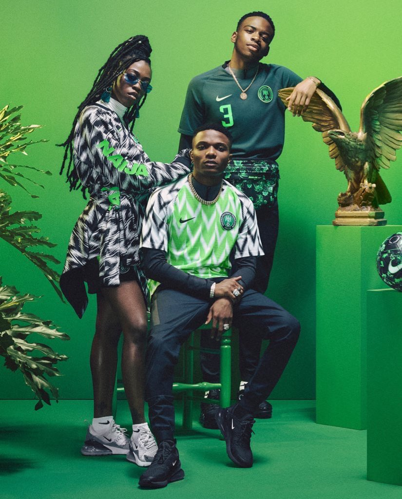 ad5de8453f0 Nigeria's World Cup kit sells out in 15 minutes 🔥