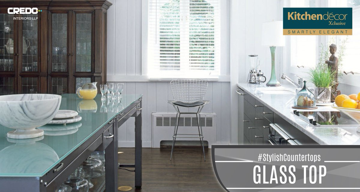 """kitchen decor exclus on twitter: """"find modern glass countertops for"""