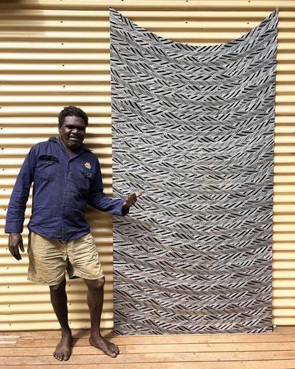 Friday bling with Gunybi #australiancontemporaryart #artist #indigenousart #etched #alumiunium #art #yolngupower #gunybiganambarr #contemporaryart https://ift.tt/2LaEDrIpic.twitter.com/R8MF7GVNTw