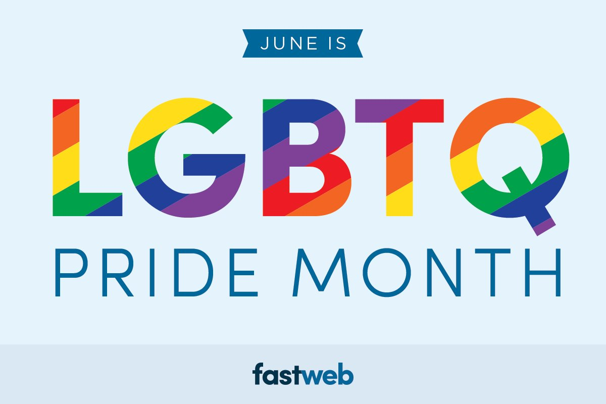 Scholarships For Women Fastweb >> Fastweb Scholarships On Twitter June Is Pride Month Find Lgbtq