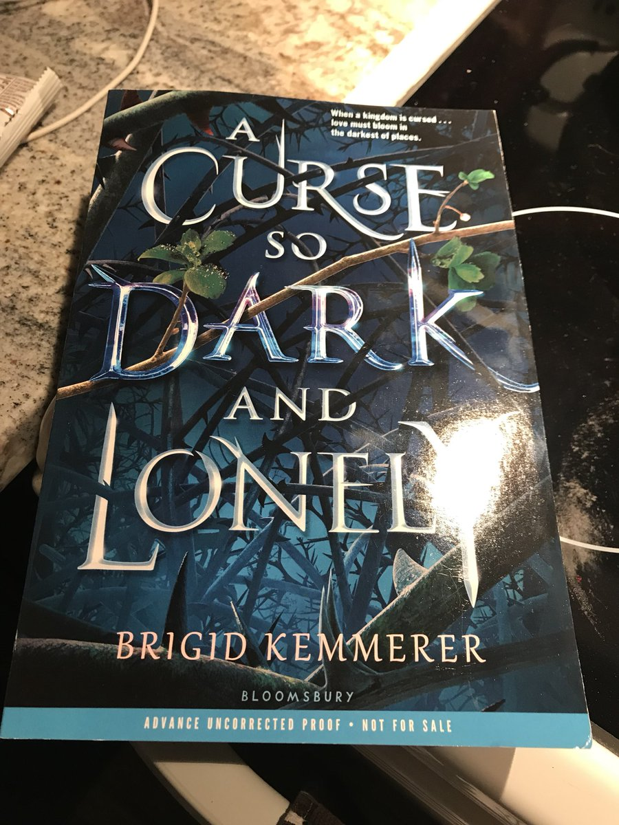 A Curse So Dark And Lonely Book Cover