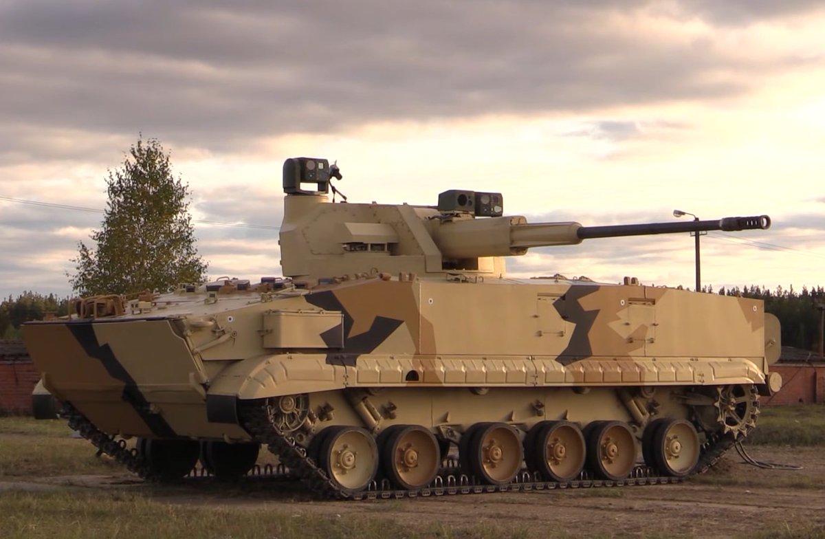 تطوير نسخه من مدرعه BMP-3 بمدفع اوتوماتيكي عيار 57 ملم  Den0RnYX4AQTtbh