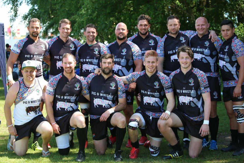 After a great start to their season last week, the amazing @SAWildDogsRugby are back again this weekend to showcase their unique brand of rugby @SummerSocialLDN - go get em boys!