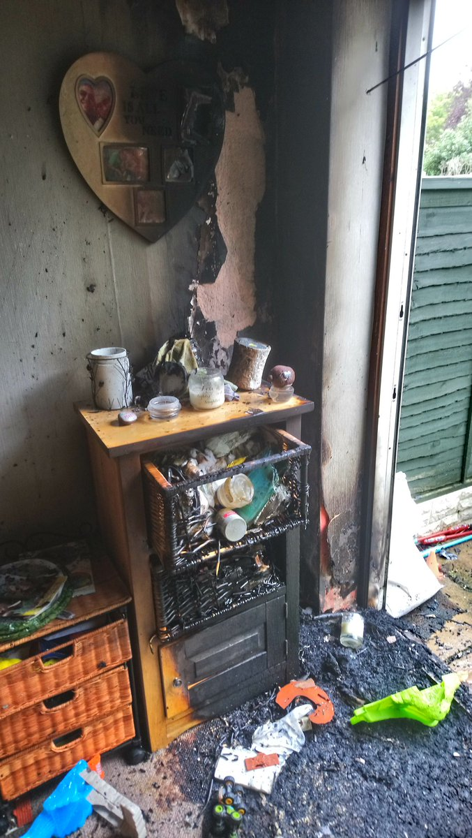 Wmfs Erdington On Twitter A Busy Day For Green Watch Our Trainee House Wiring Training At Fire Caused By Unattended Candle Luckily Smoke Detectors Alerted The Occupier And She Was Able To Get Herself 2 Children Out Into