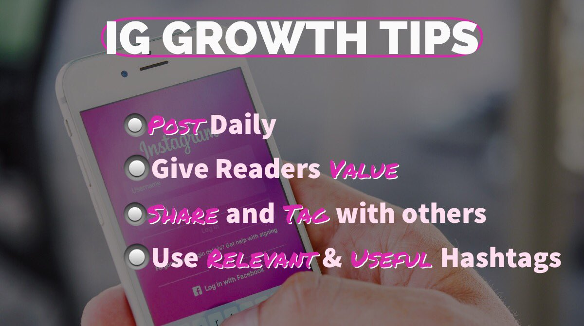 #Growth isn't always easy with IG and other social channels but by providing Daily posts Value Sharing Useful #Hashtags your channel can expand its reach! Happy Friday! . #igtips #socialmediatips #fridayvibes #socialmediamarketing #instagramhack #tipsandtricks<br>http://pic.twitter.com/HcEygy9RWV